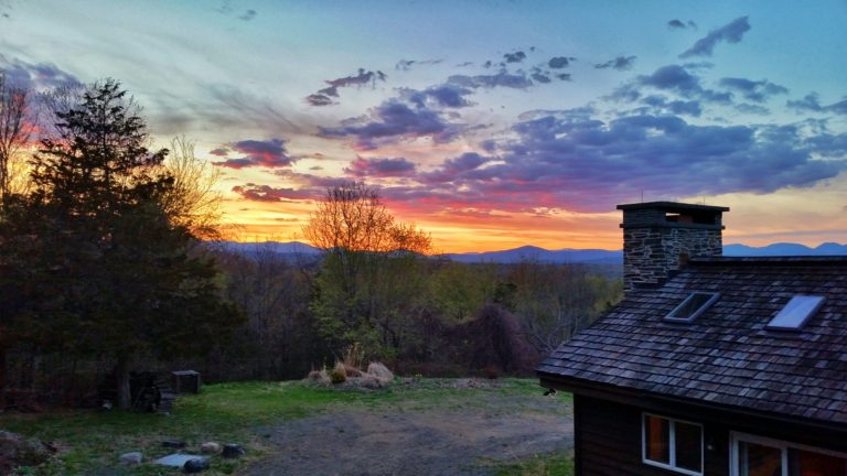 Sunsets like a box of crayola….