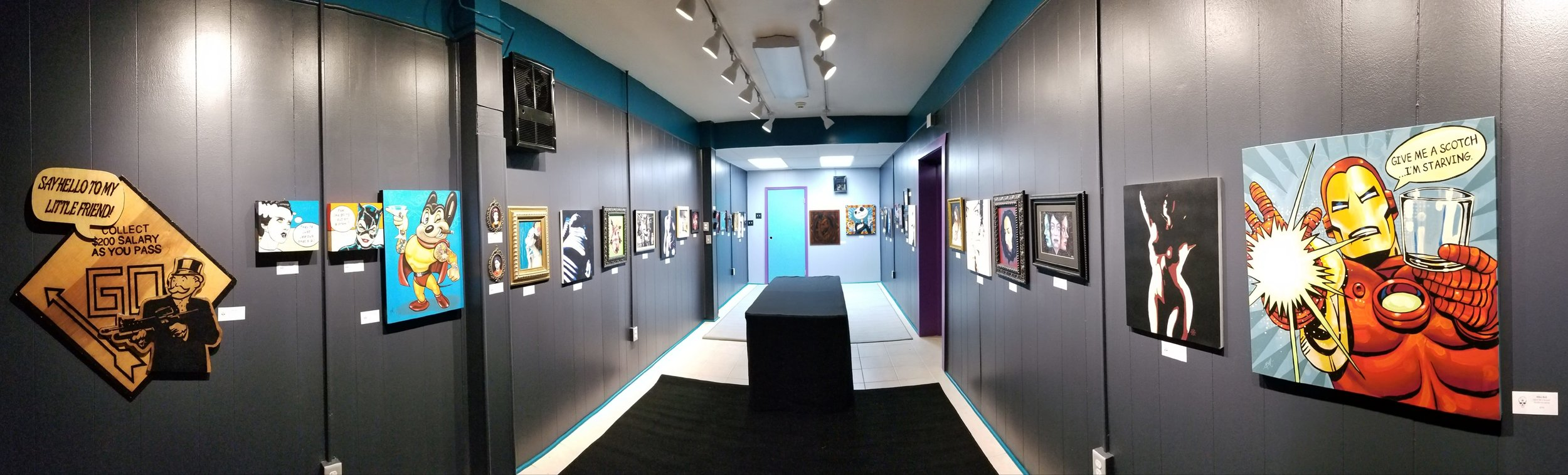 Calvaria Invitational exhibit, the first show at Calvaria which opened in Nov. 2018.
