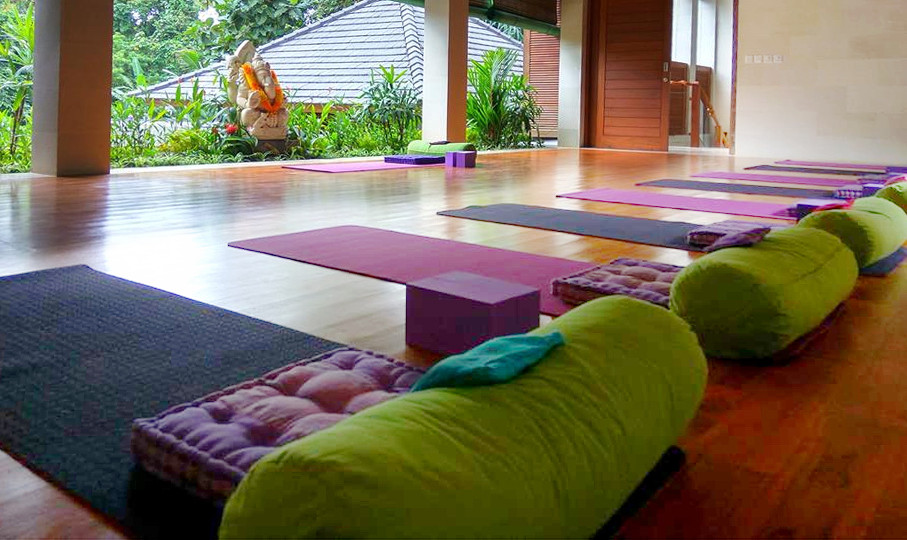 Our Yoga Studio for the 10 days