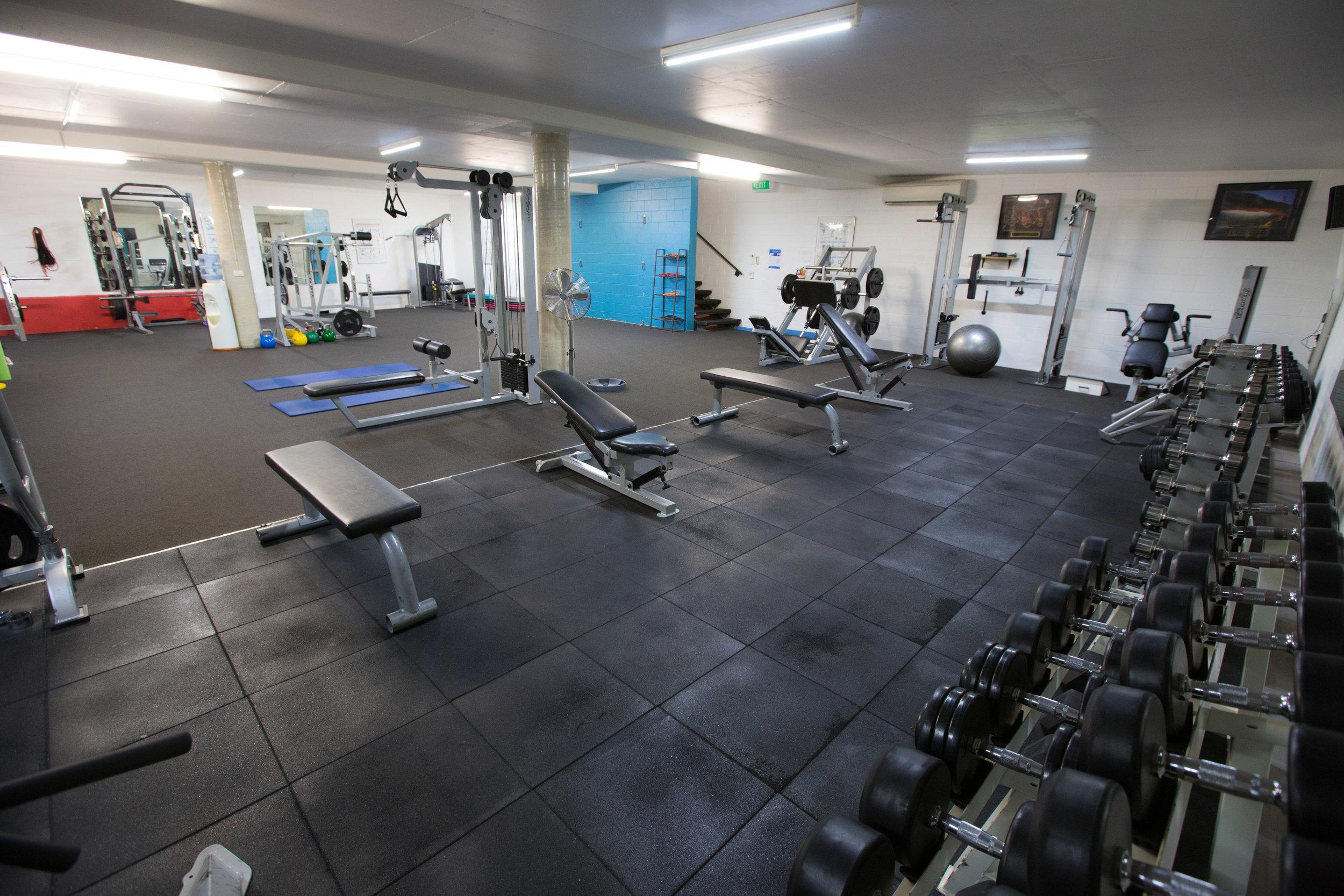 Riverside fitness gym