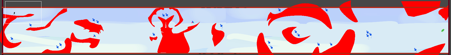 Player implemented into the first iteration to check the scale and playtest.