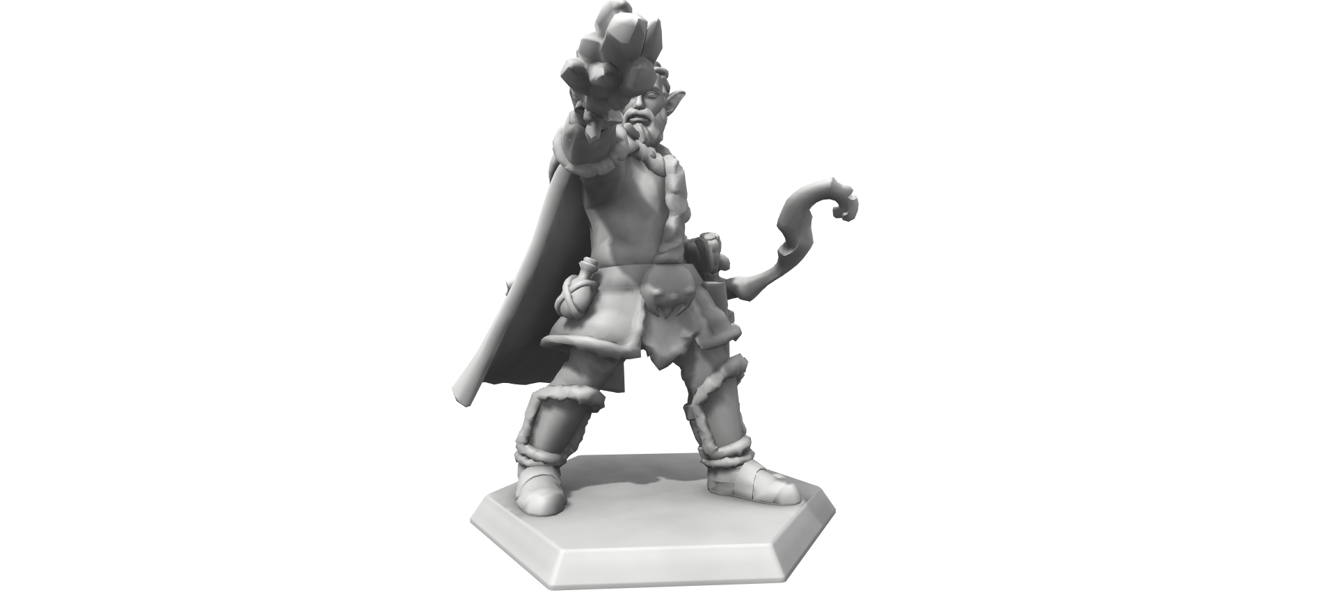 """Corwyn"" Custom Mini from Hero Forge"