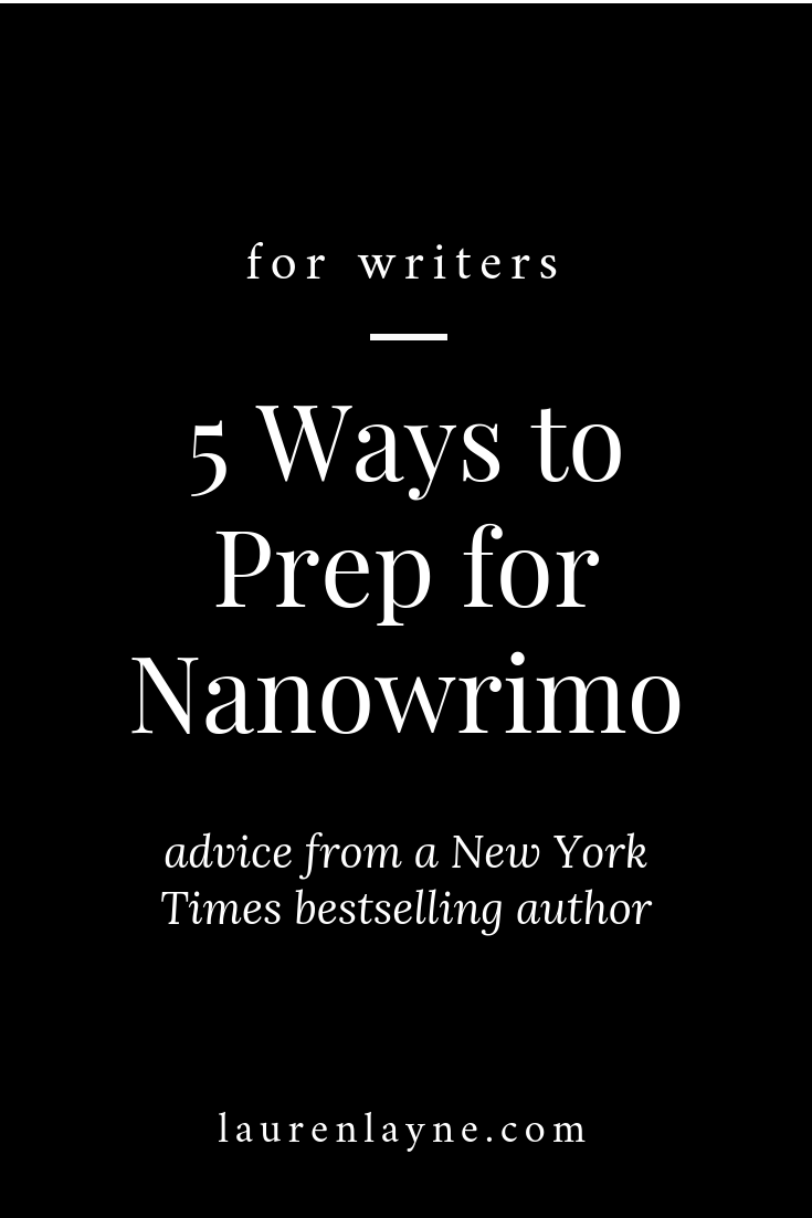Five Ways to Prep for NanoWriMo.png