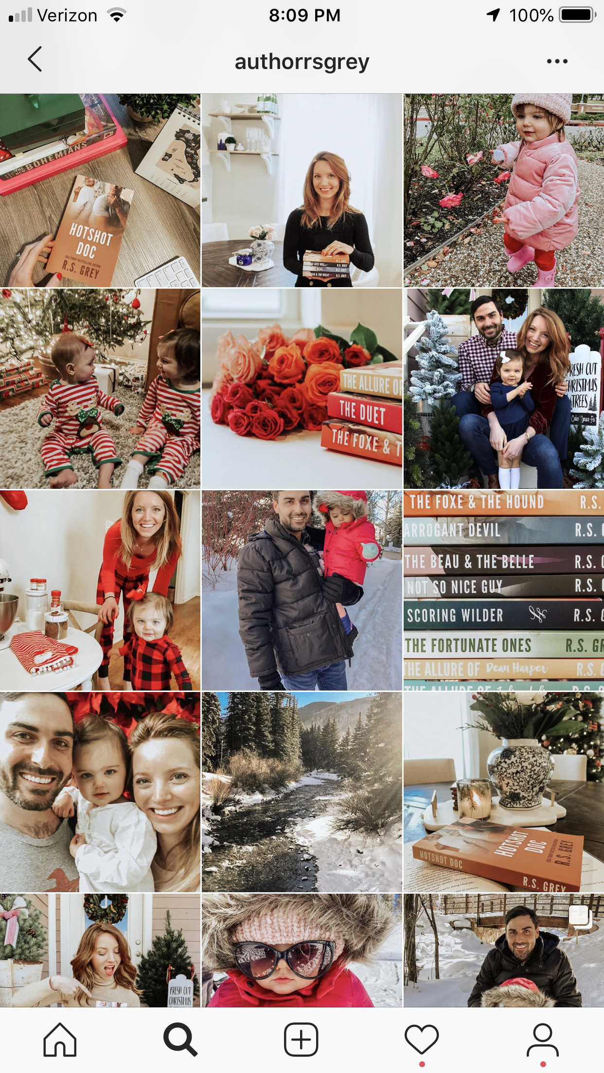 RS Grey's Instagram feed - click here to follow her!