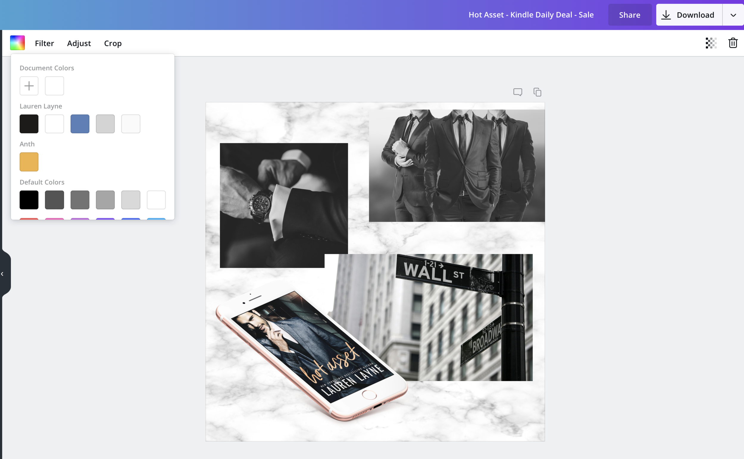 Canva for Work example