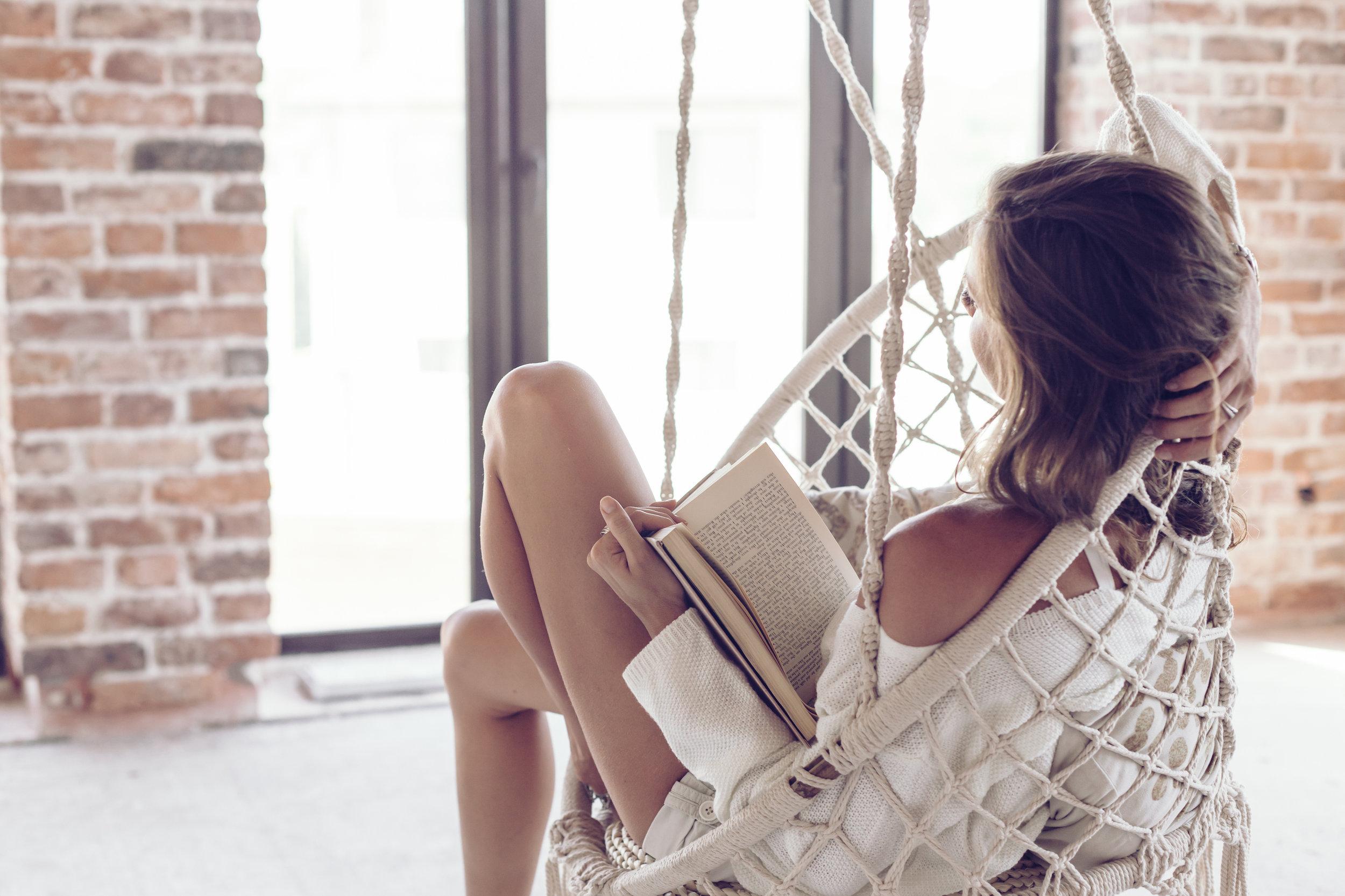 Stock Photo - Elegant Woman Reading.jpg