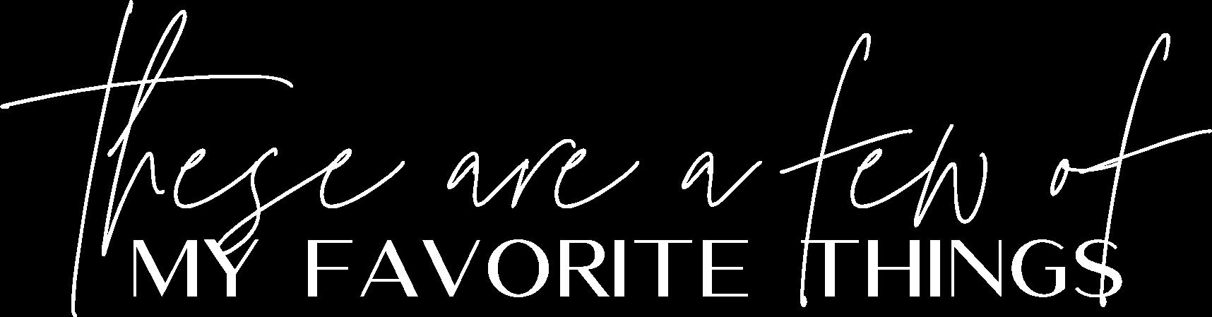 lauren layne - script - favorite things.png