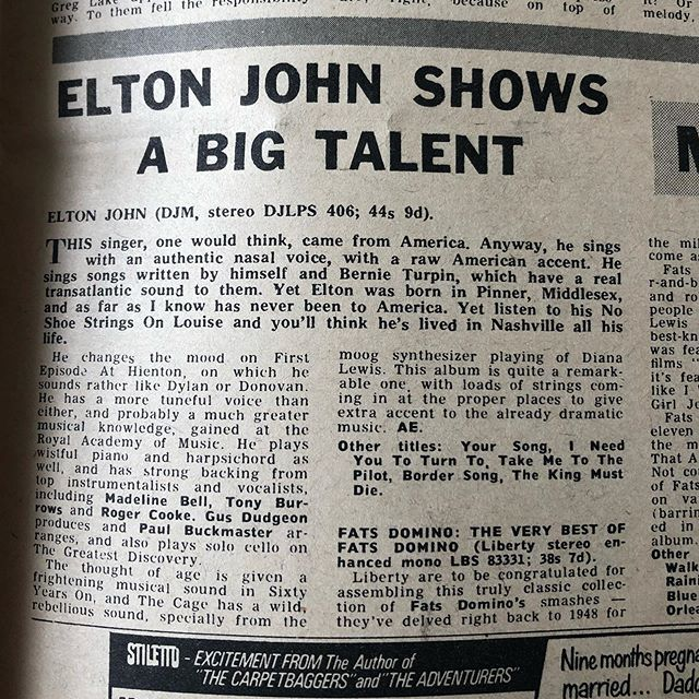 NME, June 6th, 1970 🧡