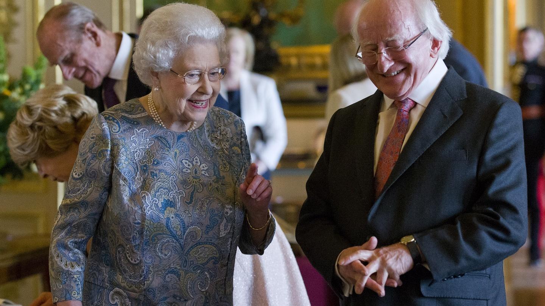President Michael D Higgins Queen Elizabeth.jpg