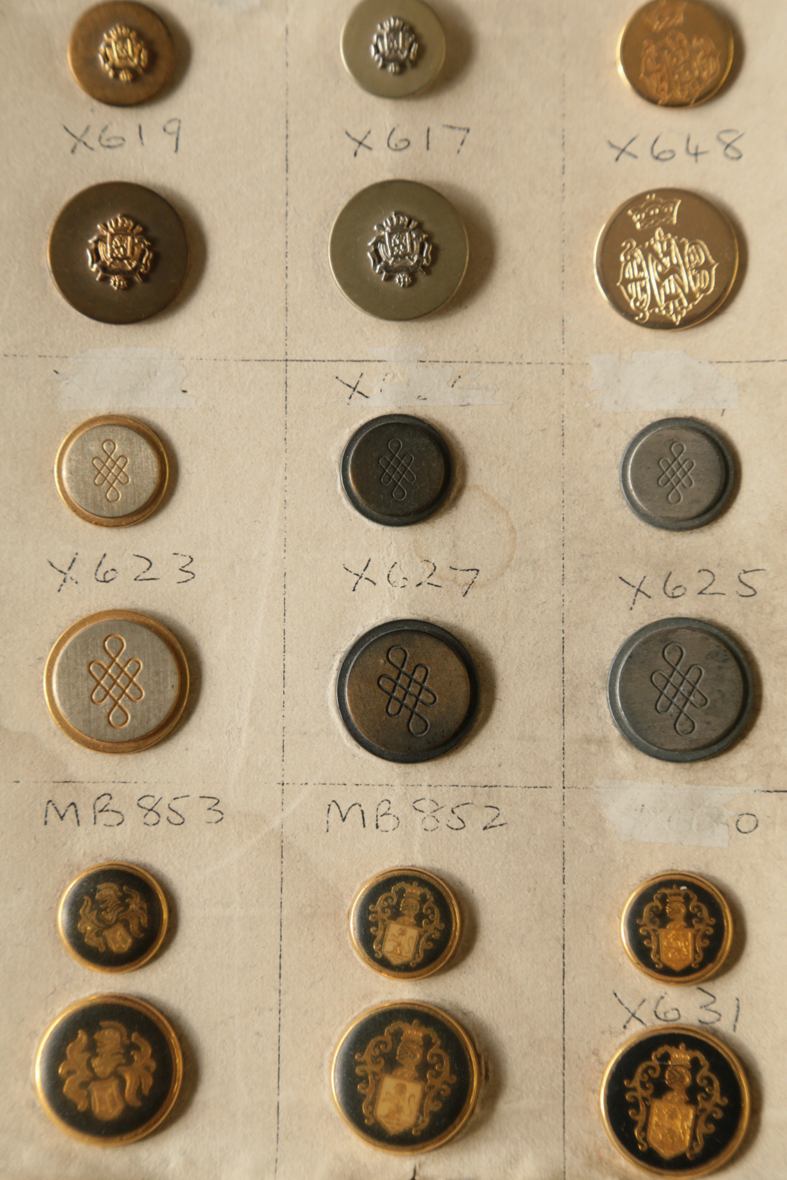 Johnson Tailor Buttons