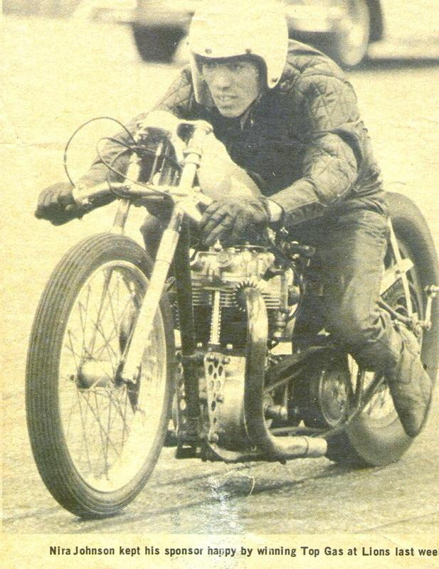 Nira Johnson was a pioneering African-American drag racer who. Although he was never famous in the U.S., he served as the inspiration for comic-book hero in France. It's hard to say who was more surprised; Nira, upon learning of his status in France, or the comic book artist, upon learning Nira was black.