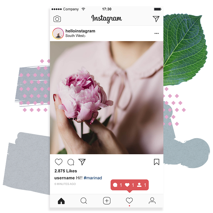 GROW & BLOSSOM - Set your goals and find out how to best grow your following - both organically or using business tools available on Instagram. Then convert that into sales!
