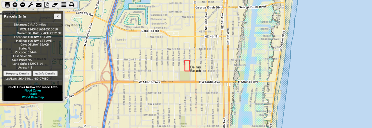 FEMA Flood Mapping of Delray Beach