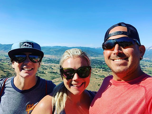 Utah did not disappoint. Hiking through Heber City and Sundance, checking out lake Jordanelle, and hanging out with amazing friends ⚡️ #utah #hiking #outdoors #nature #mountains #valley #running #triathlon #triathlete #trilife #trilove #tritraining #tricoach #ironmantri #ironmantraining #swimbikerun