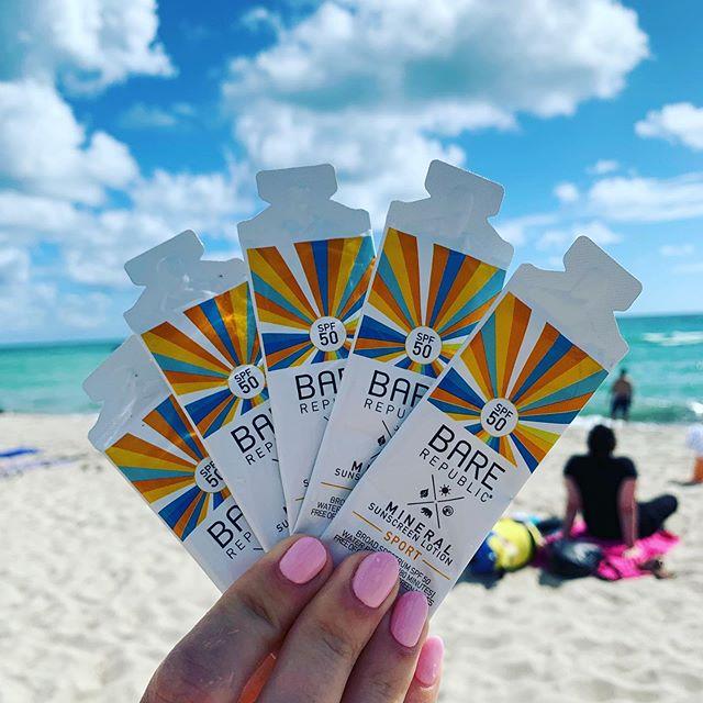 Dear Jellies...please don't sting us...we only wear marine life friendly sunscreen 🐙⚡️ ~ @asgbee (hand model extraordinaire) #sunscreen #oceansafe #jellyfish #swimming #swim #ows #ocean #beach #southbeach #gotstung