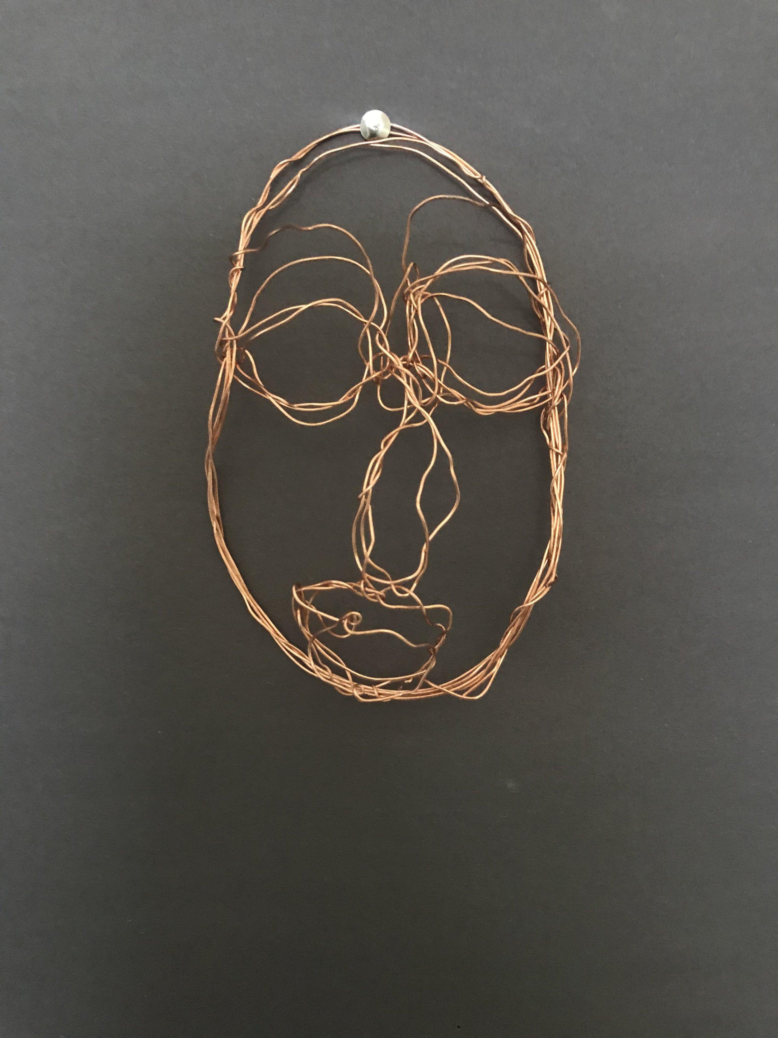 Sculpture #1 Wire piece
