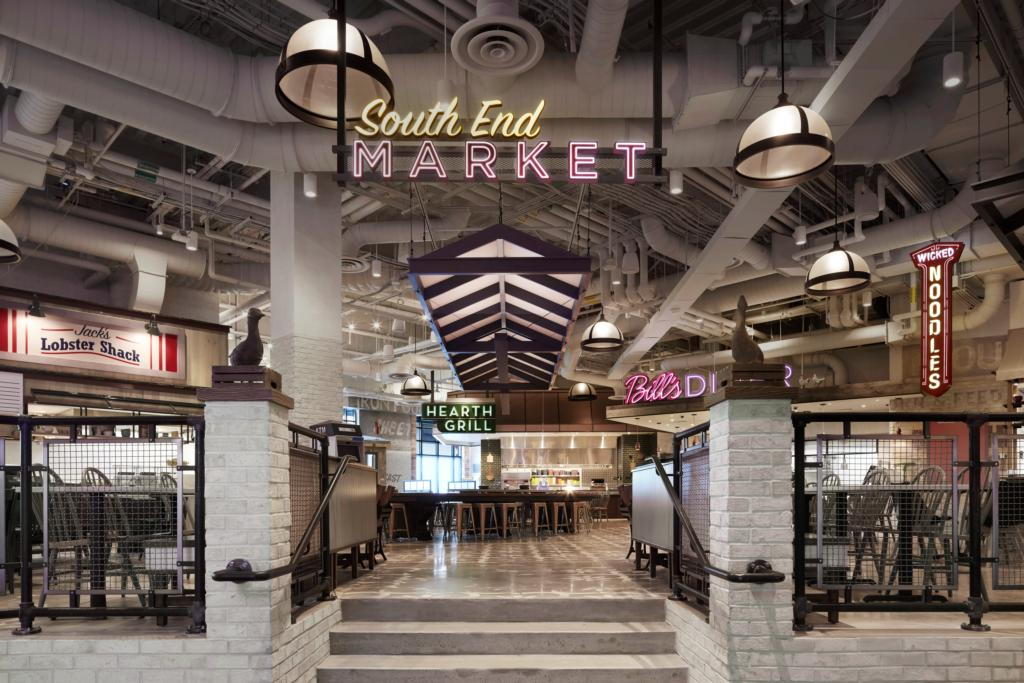 South End Market Food Hall - Location: MGM Resort and Casino, Springfield, MAType: Food HallSize: 12,000 sq ft