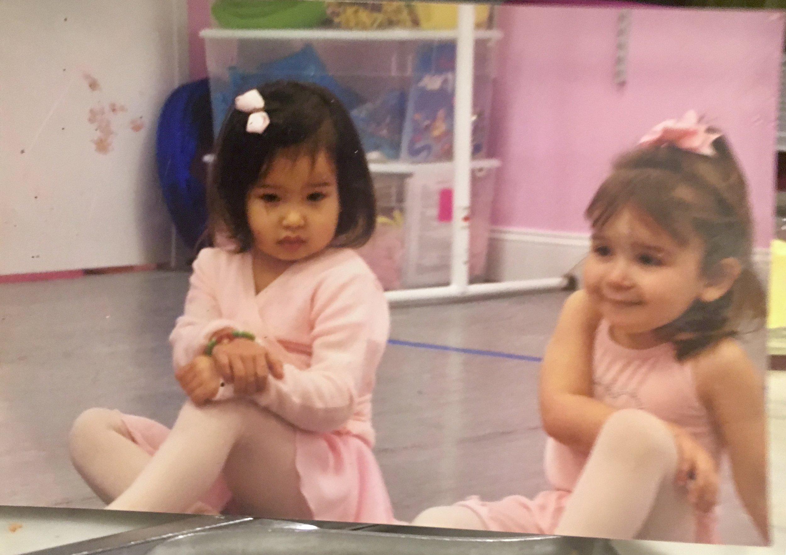 2 y.o. me -      At Ballet des Enfants