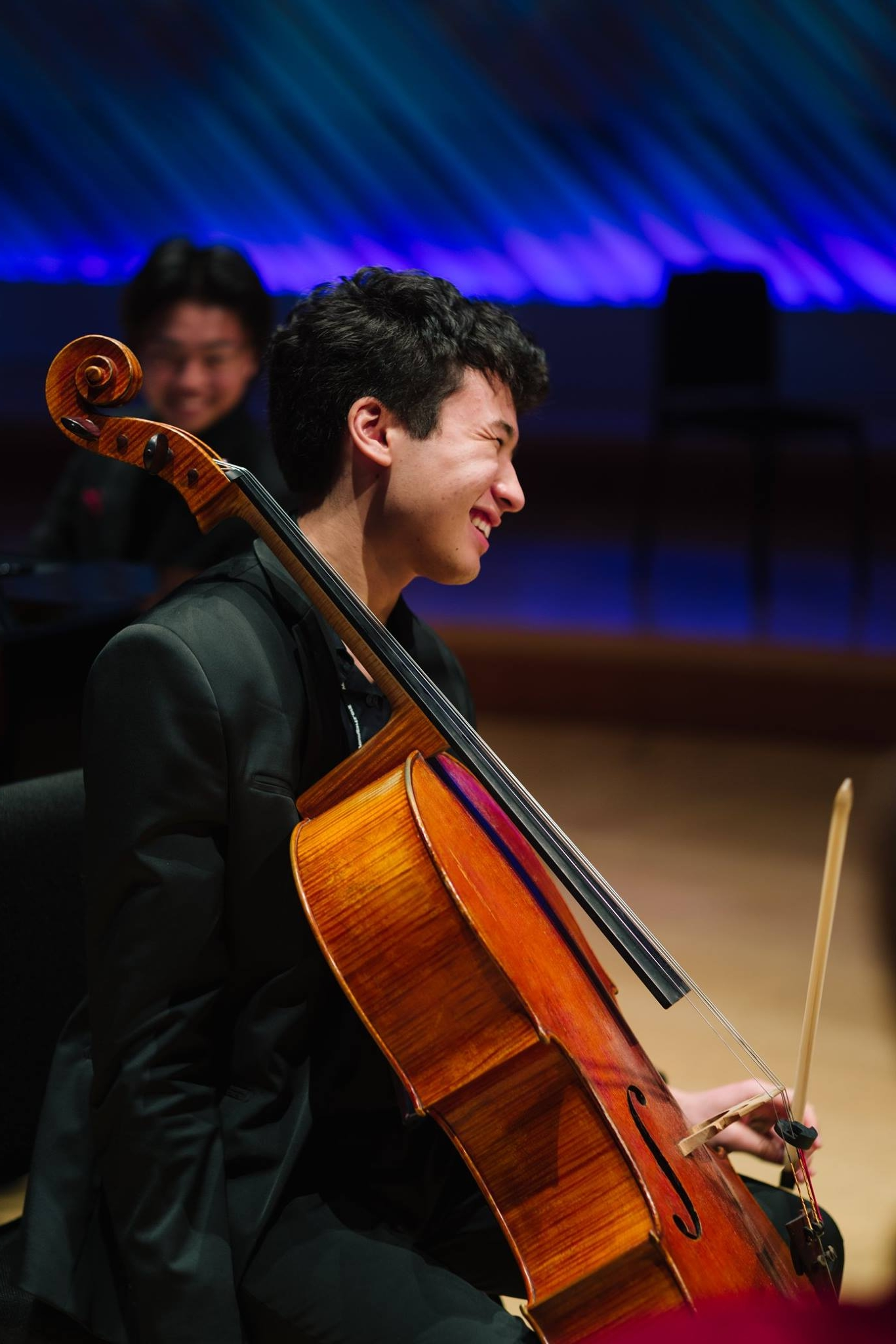 """MAX BOBBY - Eighteen year-old Max Bobby is a freshman at Harvard University. He studied cello at the Juilliard Pre-College Division with Richard Aaron and Sieun Lin. He began lessons with Maxine Neuman at Hoff Barthelson School of Music at the age of five and has been described as """"unusually gifted with an extraordinary degree of musical maturity"""".Max was a YoungArts 2018 finalist and was invited to Miami for YoungArts week. He was also winner of the 2015 Juilliard Pre College Concerto Competition, a semi-finalist at the Stulberg International String Competition and winner of the concerto competition at Indiana Summer Strings Academy. He has received full scholarships to International Morningside Music Bridge festival.Max has won top prizes at other national and international competitions, including the International Virtuoso Competition (grand prize), New York Music Competition (gold prize), Stamford Young Artists Concerto Competition (first prize), American Fine Arts Festival Competition (gold prize), American Protege Concerto Competition (gold prize), the Morningside Music Bridge Chamber Competition (second prize), Yonkers Philharmonic Concerto Competition (second prize) and the Pasadena Chamber Music Competition (Beethoven prize).Max loves anything tech, enjoys political satire, practices juggling, works on perfecting his pratfall, and is a connoisseur of cringe comedies and merguez sausages."""