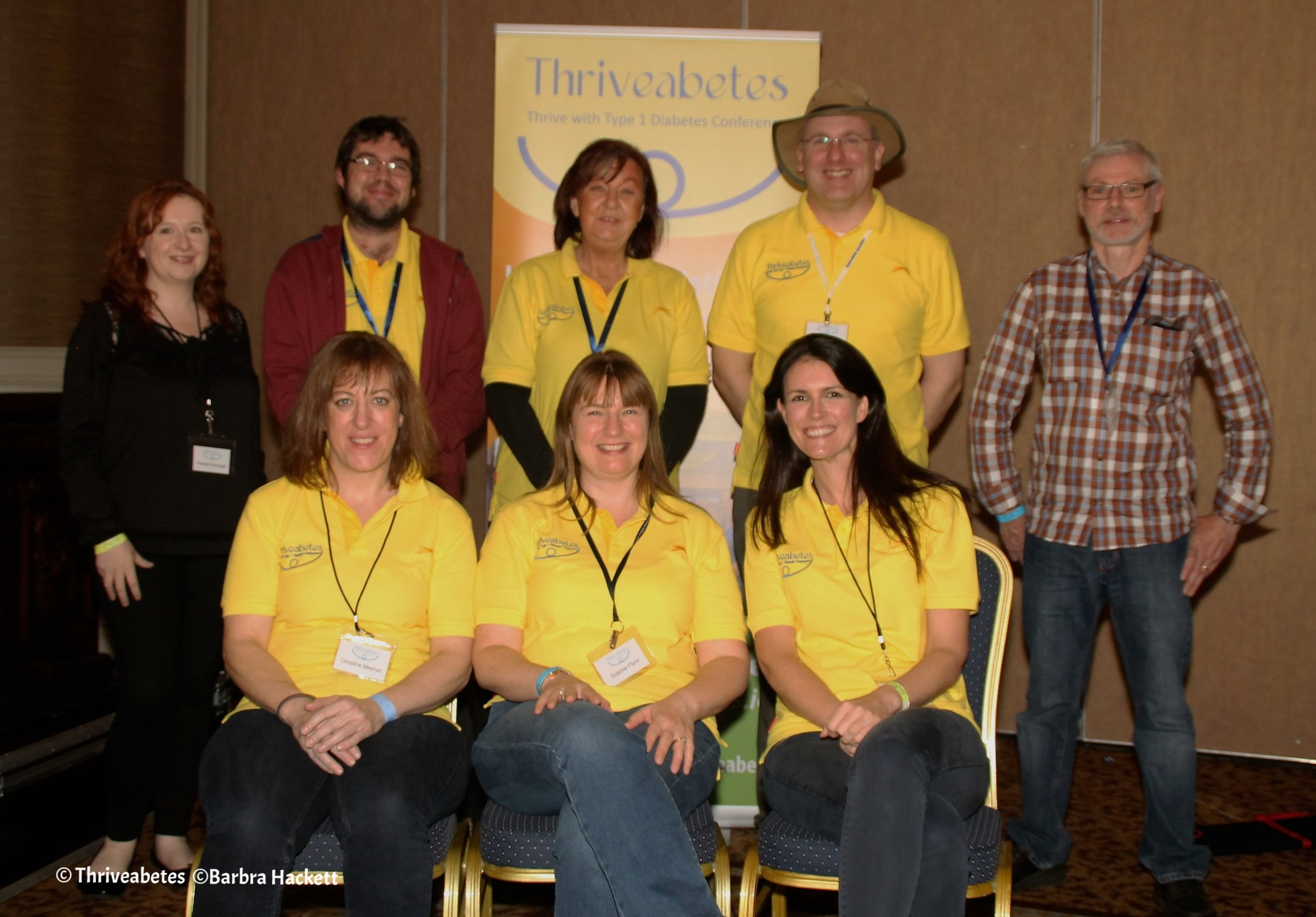 Thriveabetes 2016 organising team