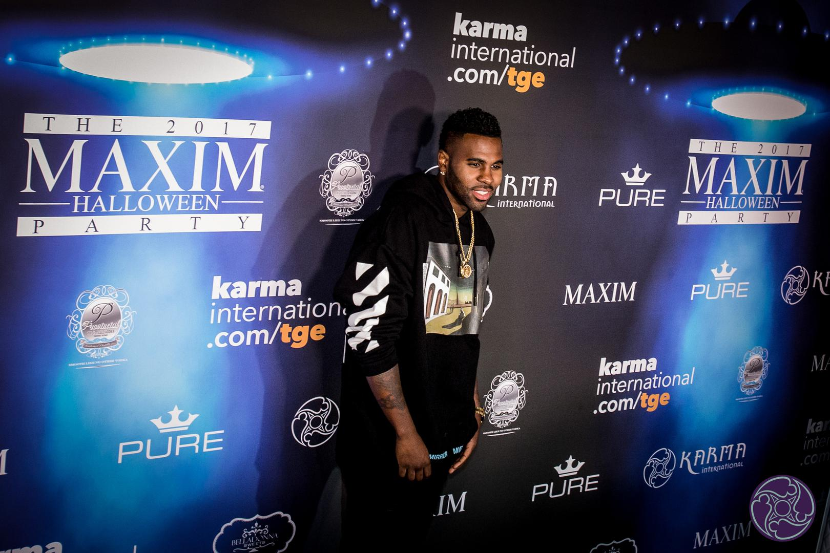 Jason Derulo performed at the 2017 Maxim Halloween Party