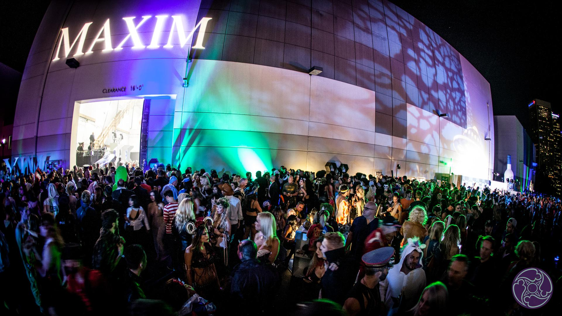 LA Center studios hosts the 2017 Maxim Halloween Party