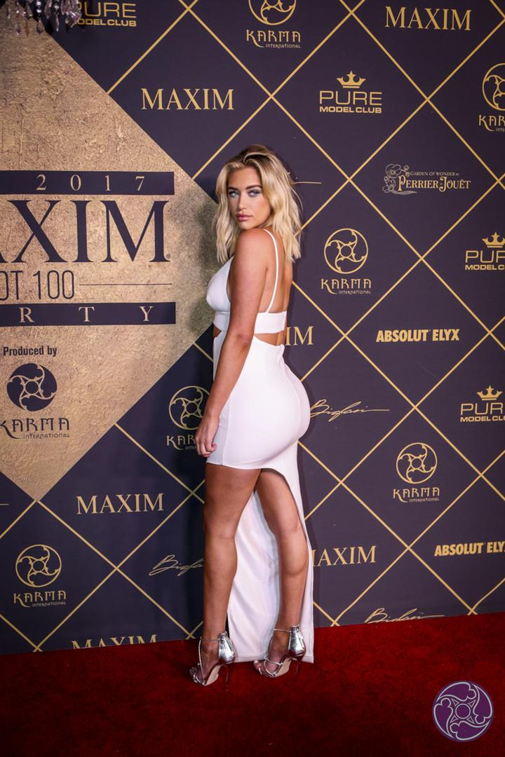 Hailey Baldwin tops the Maxim Magazine's 2017 Hot List and host the 2017 Maxim Hot 100 Party