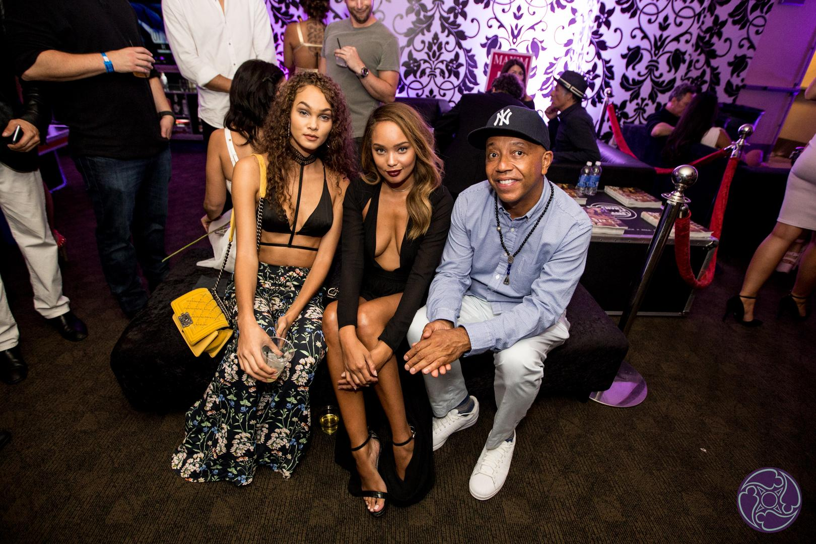 Russell Simmons at the 2016 Maxim Hot 100 Party