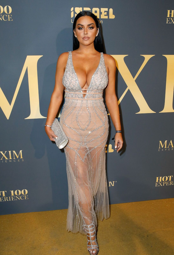 Abigail Ratchford at the 2018 Maxim Hot 100 Experience