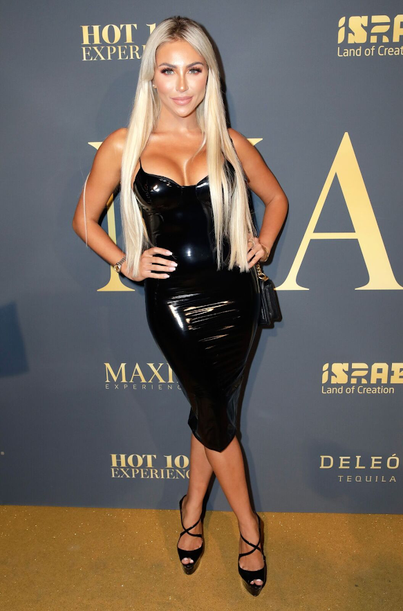 Khloe Terae attends the 2018 Maxim Hot 100 Party