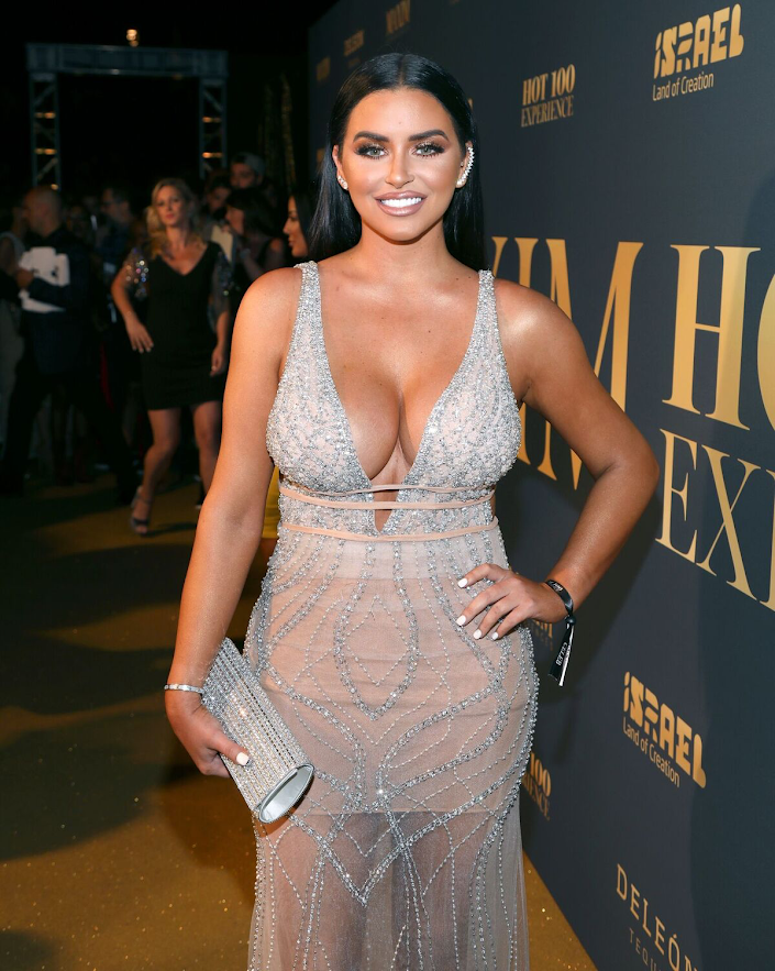 Abigail Ratchford attends the 2018 Maxim Hot 100 Party