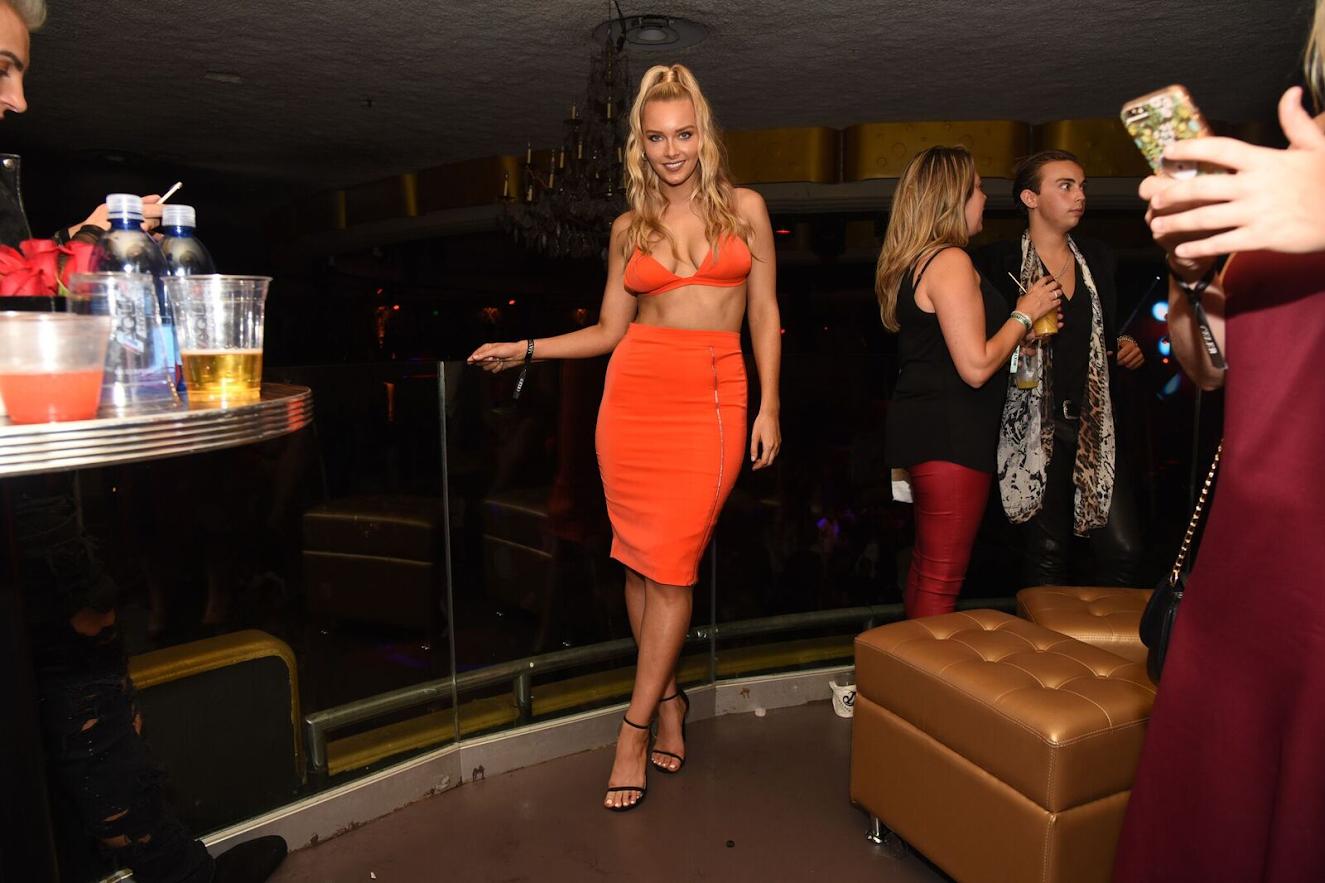 Maxim's Finest showcasing designer dresses at the Maxim Hot 100 Party