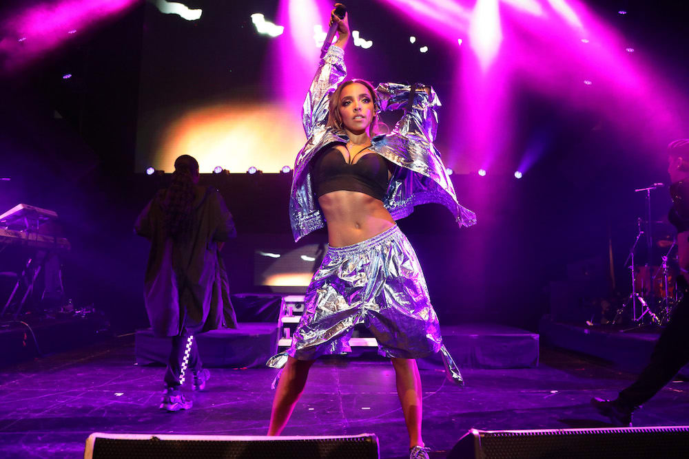 Tinashe takes the stage at the 2018 Maxim Hot 100 Experience