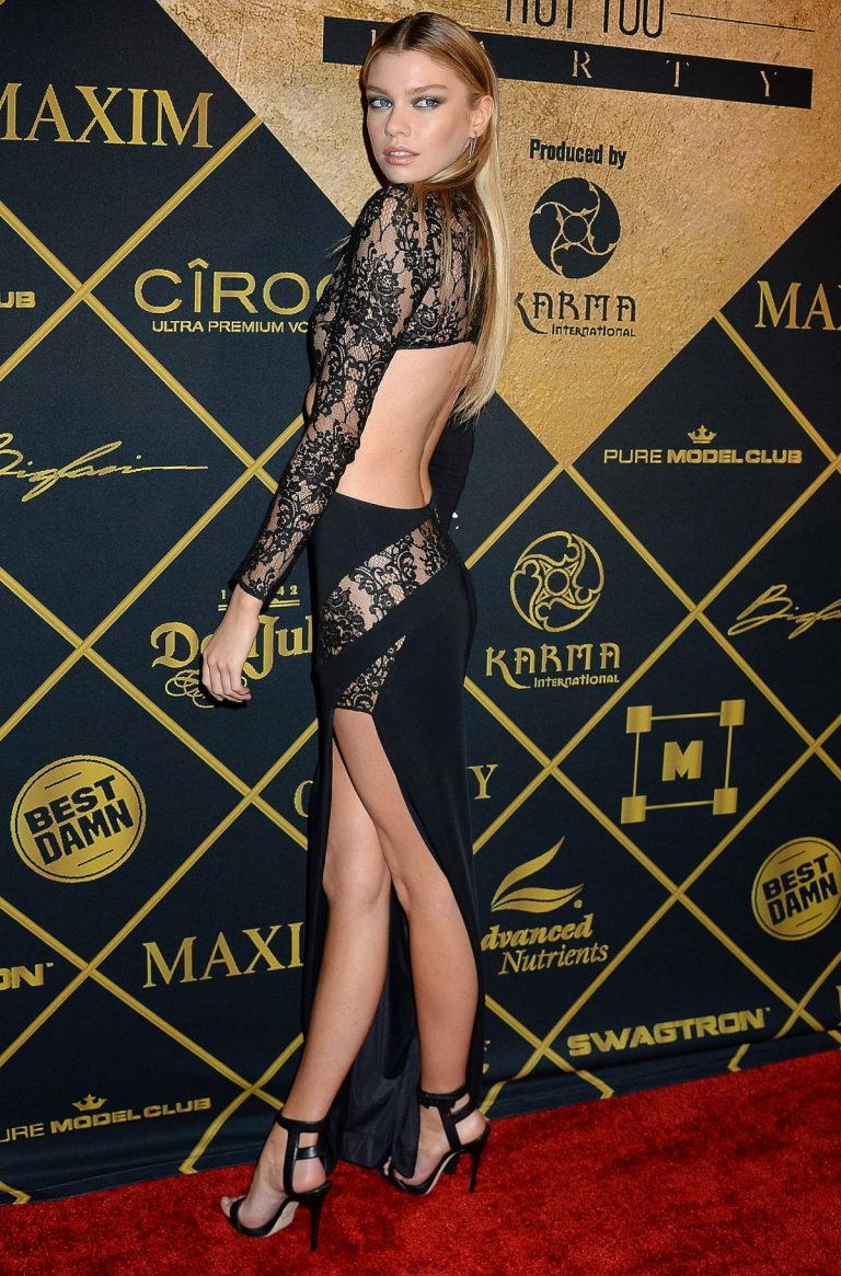 Stella Maxwell tops the 2016 Maxim Hot 100 List and Hosts the 2016 Maxim Hot 100 Party in Hollywood