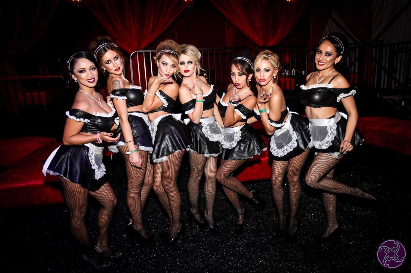 Maxim Halloween Party VIP Hostesses. Call 1-877-MAXIM-02 for tickets to all upcoming Maxim Experiences.