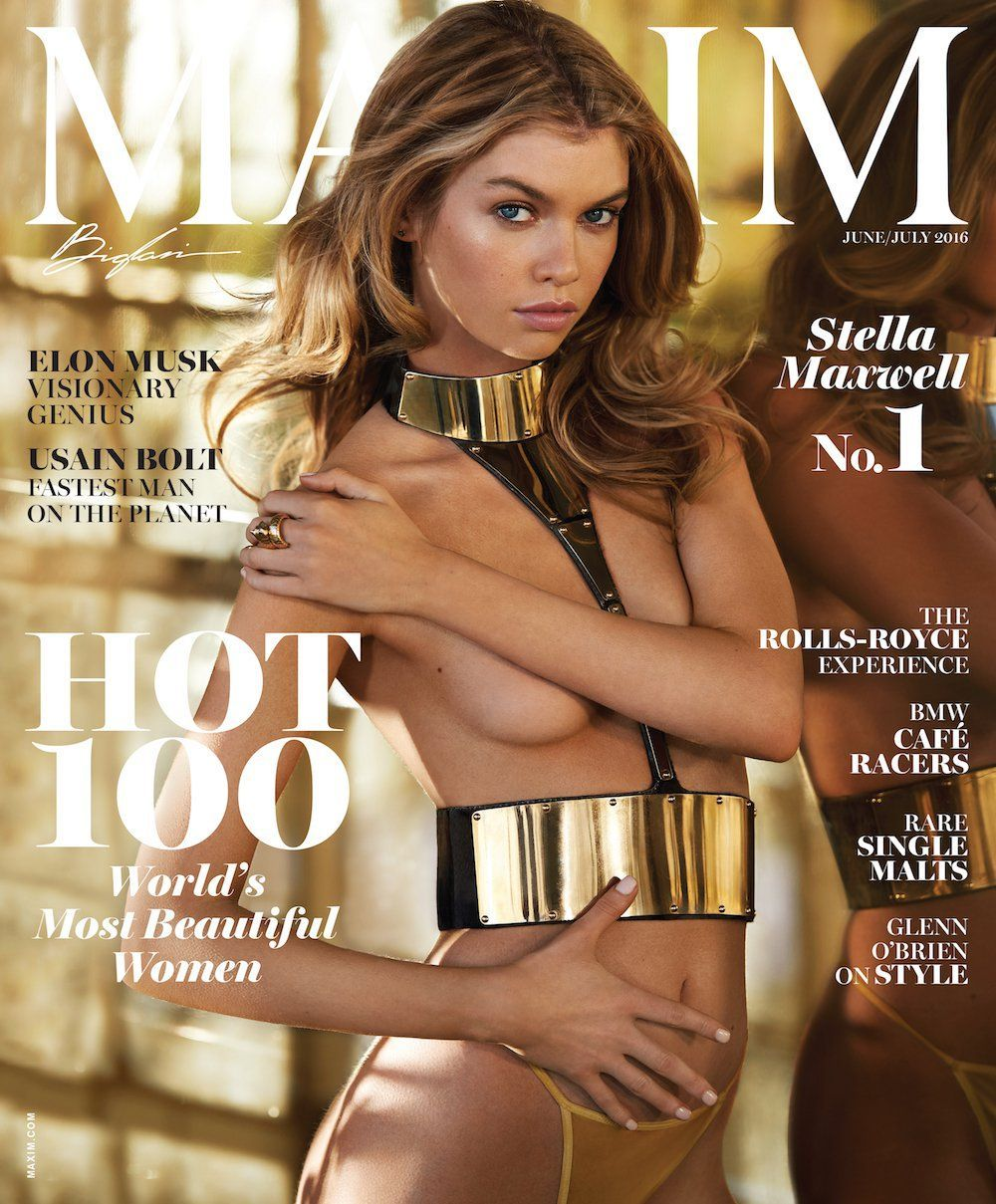 Stella Maxwell tops Maxim Magazine's 2016 Hot List and Hosts the 2016 Maxim Hot 100 Party at the Hollywood Palladium