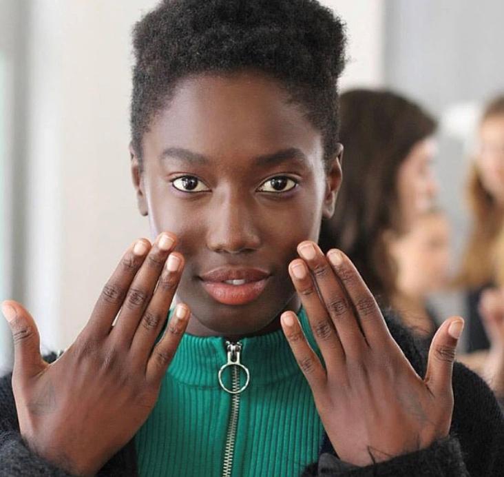 London Fashion Week Edeline Lee SS16 assisting Lyndsay McIntosh