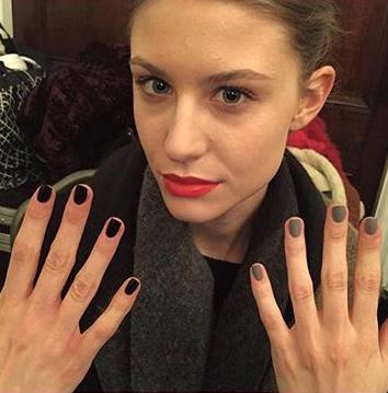 London Fashion Week Natasha Zinko AW16 assisting Lyndsay McIntosh