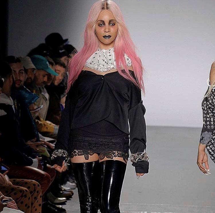 New York Fashion Week Gypsy Sport AW18 assisting Rose Velez-Miggins