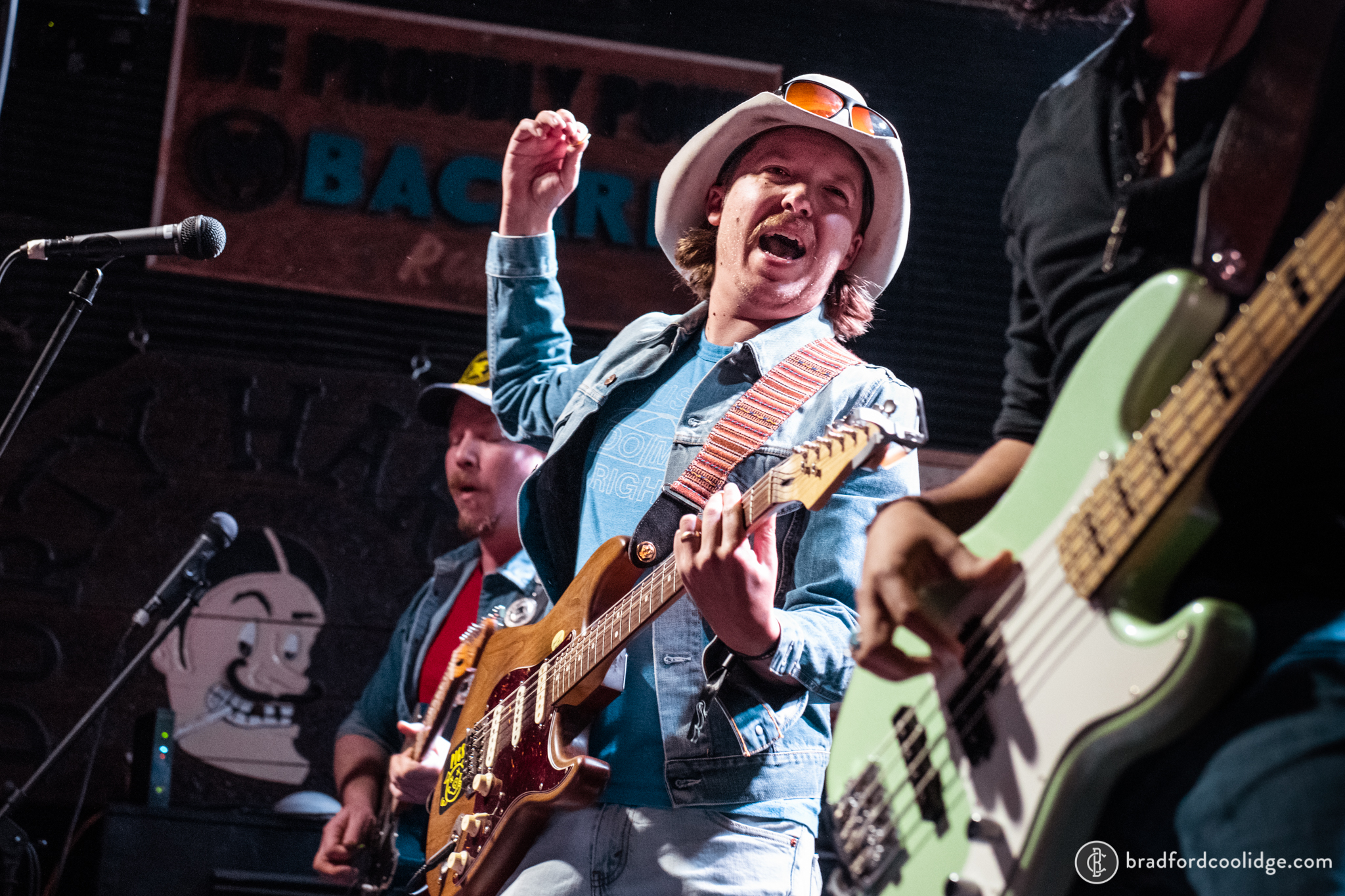 Mike and the Moonpies at Durty Harry's, Mile O Fest 2019.