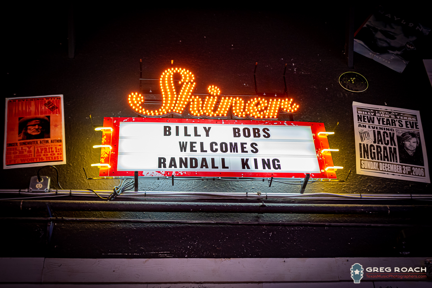 Multi Sala King.Randall King Billy Bob S Texas Texas Music Photographers