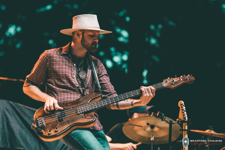 Alden Hedges, the new bassist taking over for Ben Hussey.