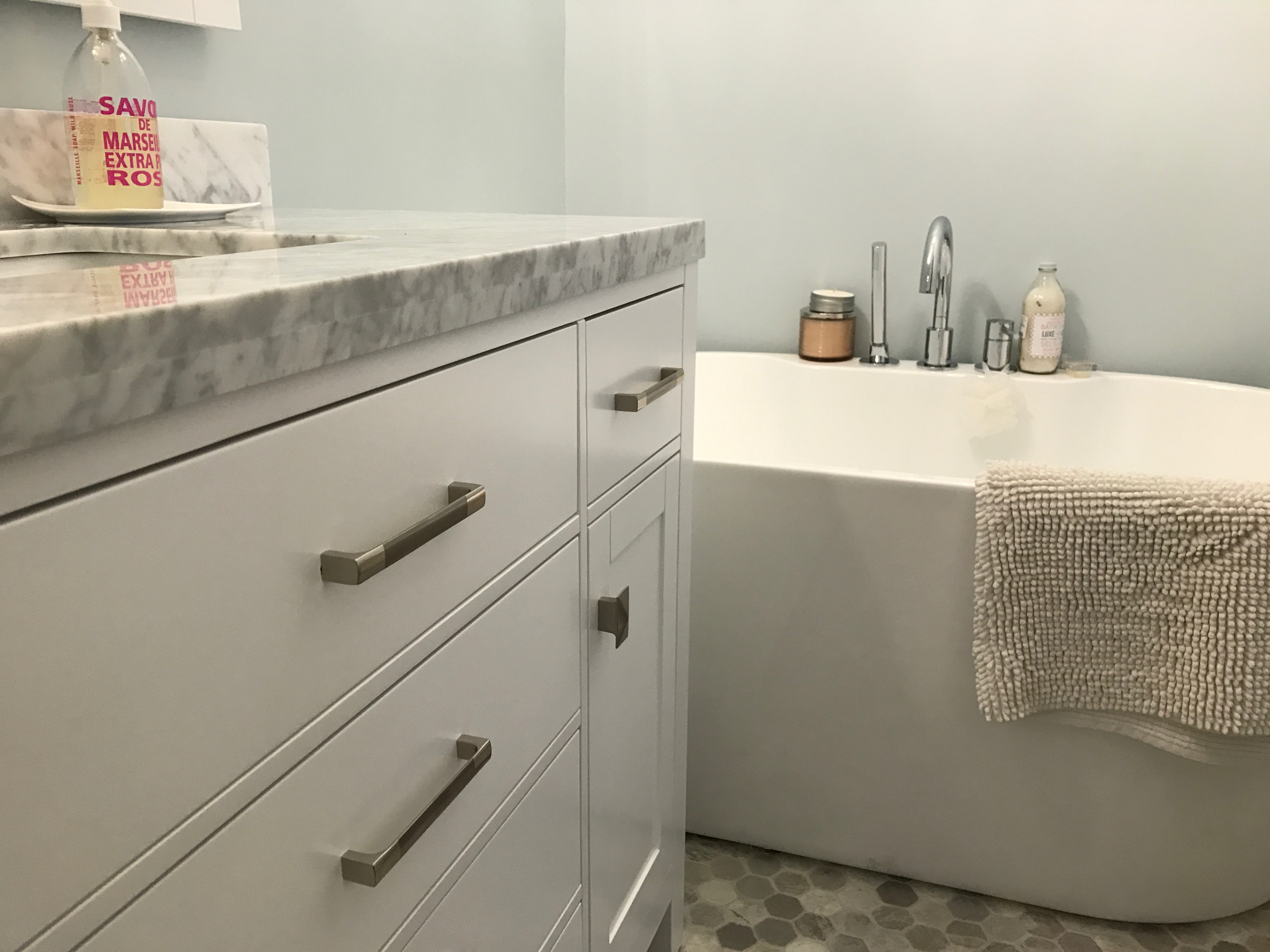 Kerr Residence- Simple and Elegant Bathroom Upgrade