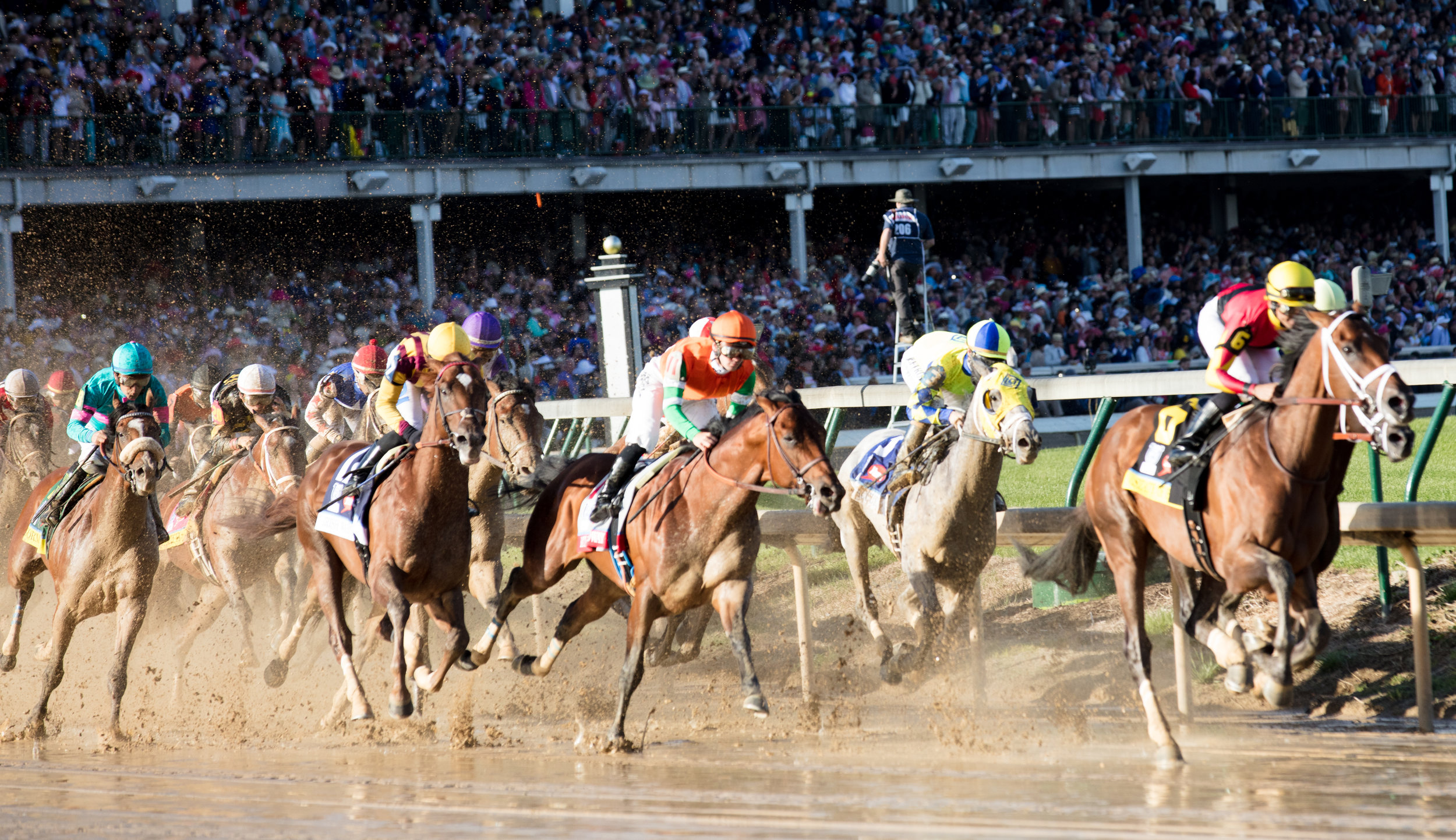 First turn at the Kentucky Derby #2.jpg