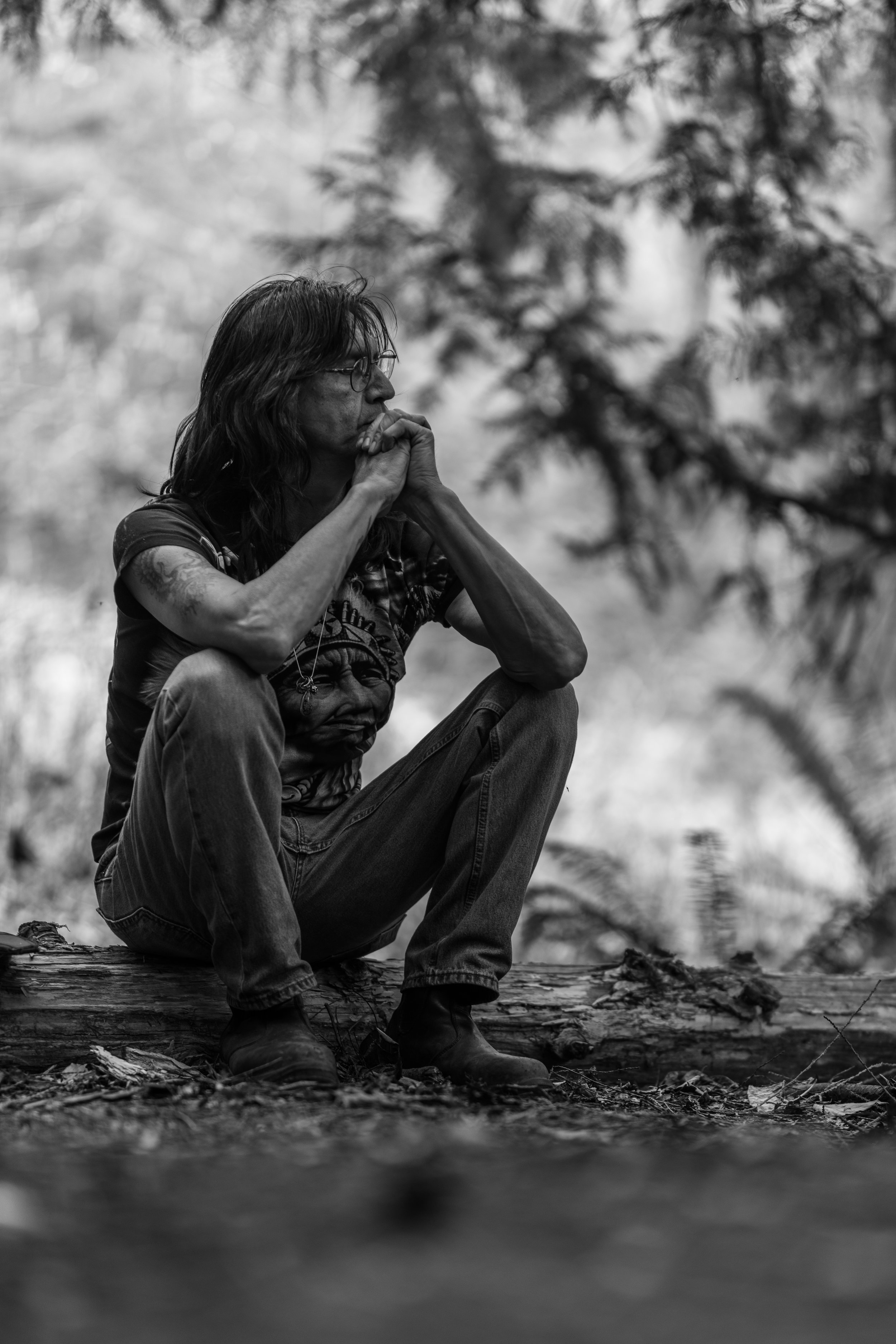 Harold Joe at Chase Woods near Duncan Dust n' Bones photo Blair Denman.jpg