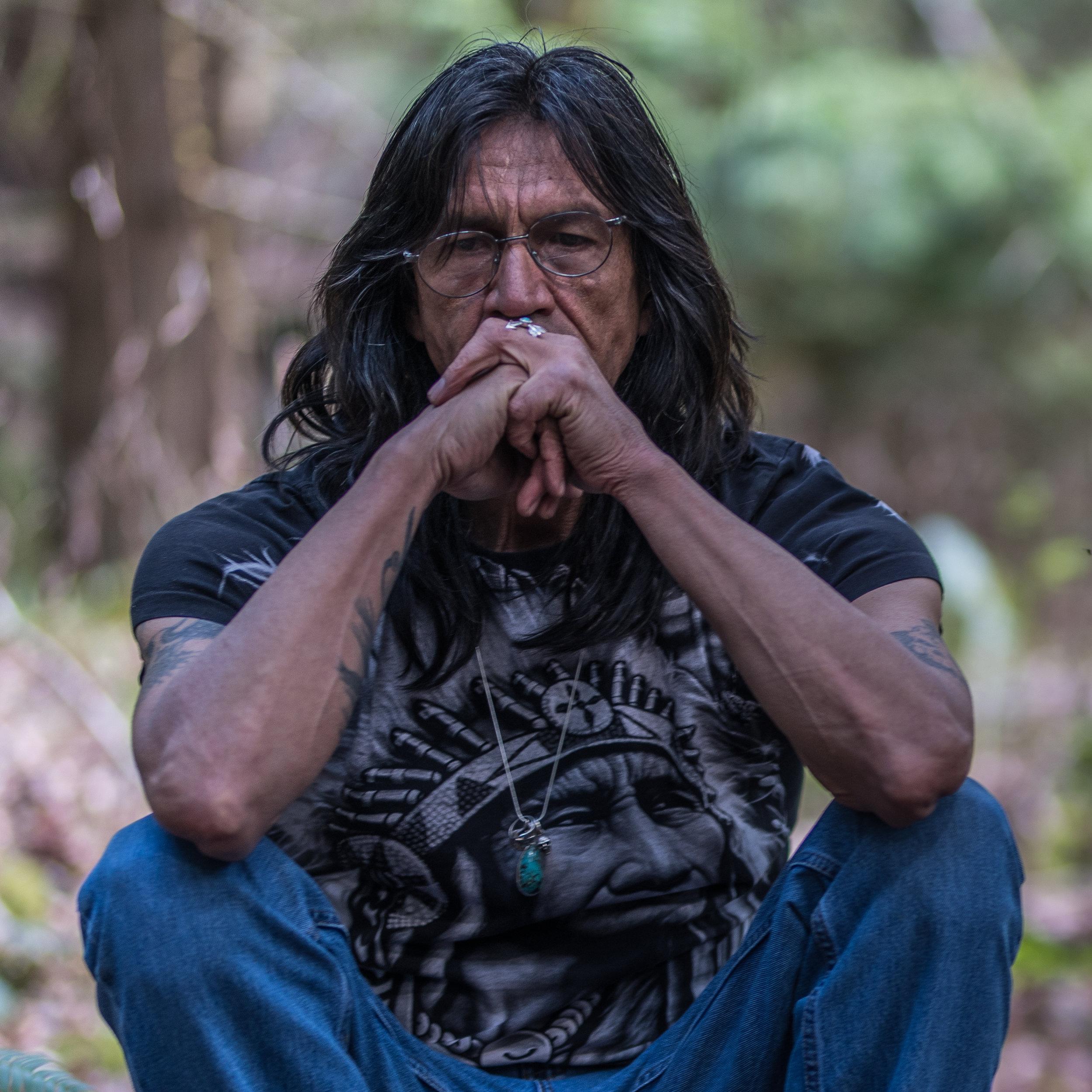 Harold Joe contemplation Dust n' Bones photo Blair Denman.jpg