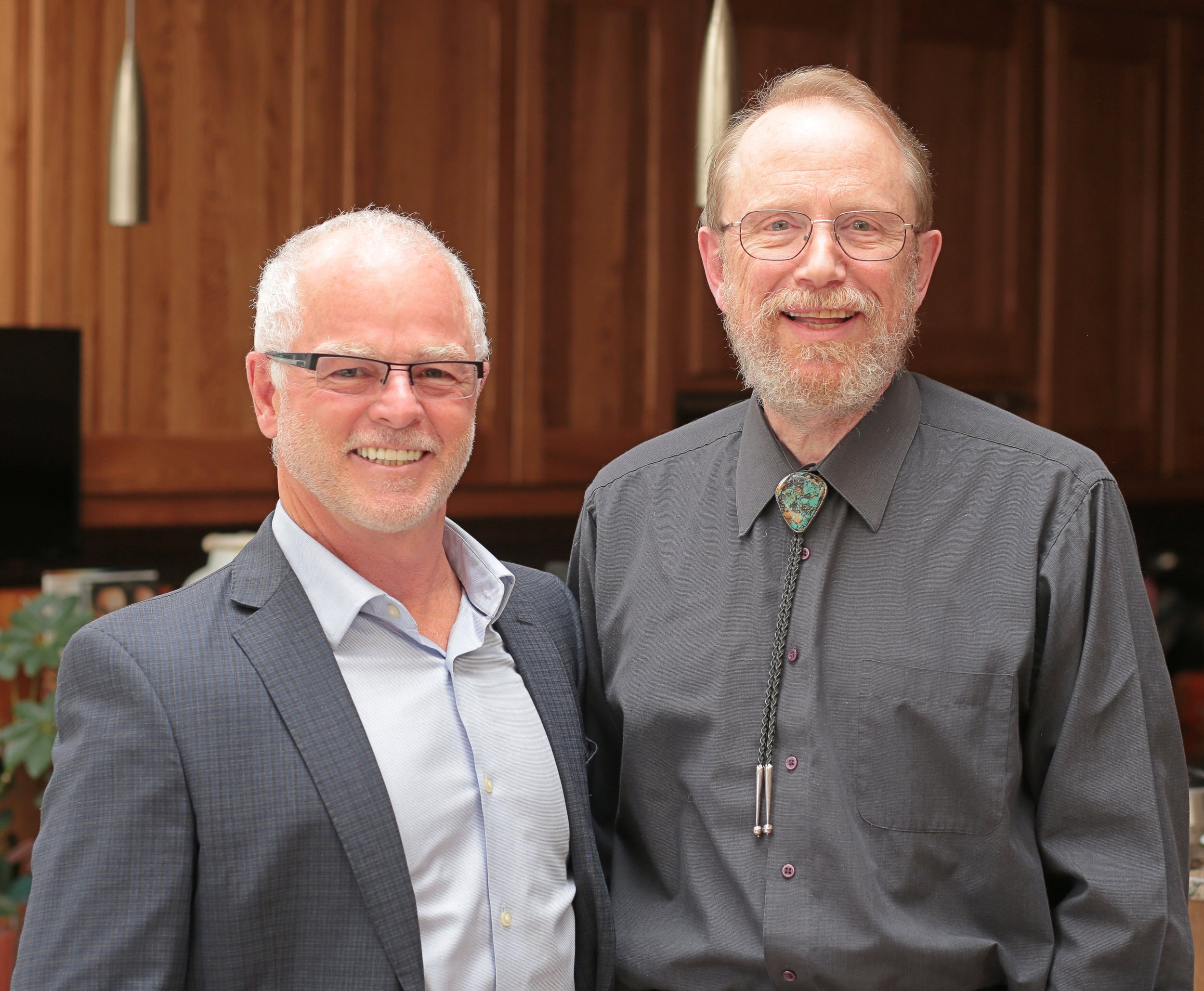 9-Mike Pond with Dr. Bill Miller in Albuquerque, New Mexico.jpg