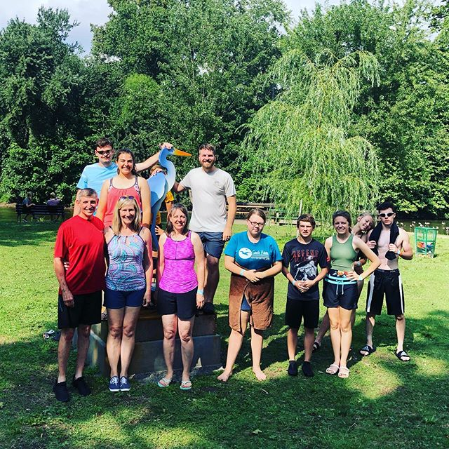 It was great having new friends from Battle Creek Michigan visit us to get their feet wet!!! They were in town on a trip to the @cuyahogavalleynps and decided to come over and float!! Book your weekday group of ten or more now at floattheriver.net!!! 😎🤙🏼