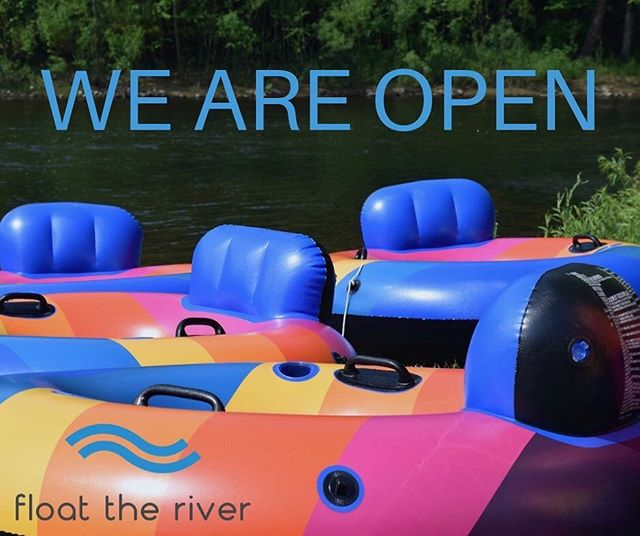 Today is the last day and your last chance to get your feet wet before our season is over!!! Come out and celebrate this Labor Day with an experience you and for family/friends won't forget!!! Book online at floattheriver.net!!! 😎🤙
