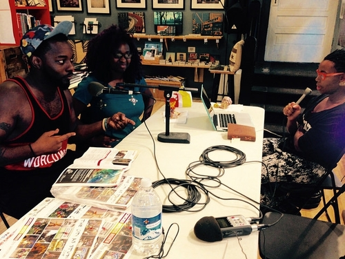 Chicago filmmakers Ife Olatunji and Lonnie Edwards on   Depth of Field